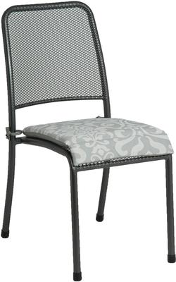 Portofino Metal Mesh Stacking Side Garden Chair image 6
