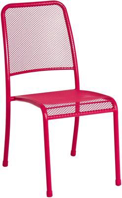 Portofino Metal Mesh Stacking Side Garden Chair image 7