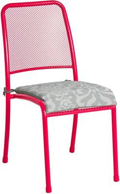 Portofino Metal Mesh Stacking Side Garden Chair image 8