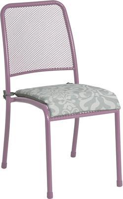 Portofino Metal Mesh Stacking Side Garden Chair image 10