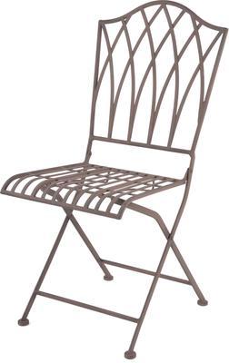 Vintage Rectory Metal Folding Garden Chair