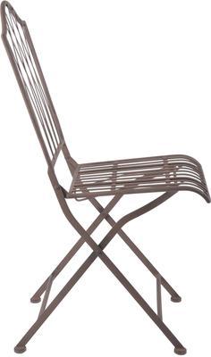 Vintage Rectory Metal Folding Garden Chair image 2