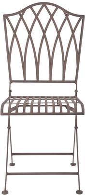 Vintage Rectory Metal Folding Garden Chair image 3
