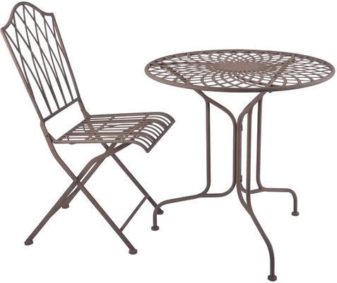 Vintage Rectory Metal Folding Garden Chair image 4