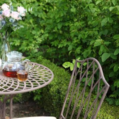 Vintage Rectory Metal Folding Garden Chair image 5