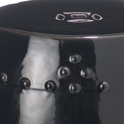 Black Ceramic Stool image 2