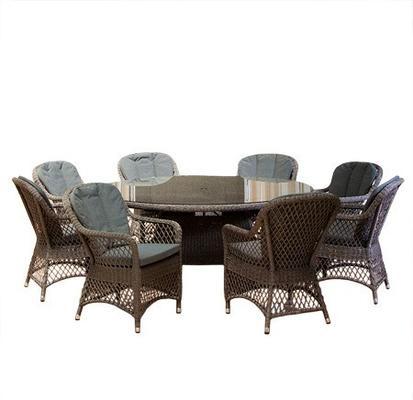 Monte Carlo 6 Seater Dining Set image 5