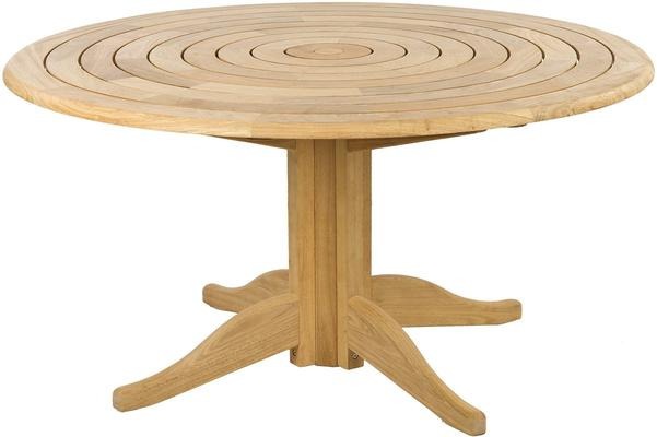 Roble Round Outdoor Dining Set - 6 Seater image 3