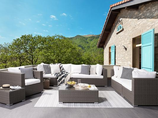 MAESTRO Faux Rattan Patio Set for 8 People image 2