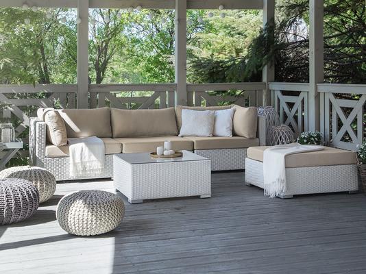 SANO Polyrattan Outdoor Furniture Set - Seats 4 image 2