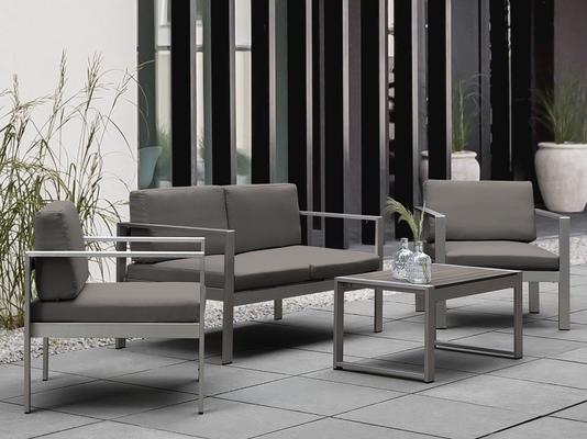 Salerno Garden Set Grey Upholstery image 3