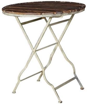 Garden Table Distressed Iron