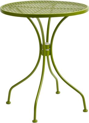Pretty Flower Garden Table Green