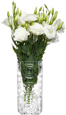 Glass Swirls Triangle Vase 25cm image 3