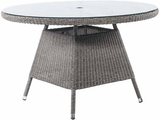 Calvina Monte Carlo Round Outdoor Table With Glass image 5