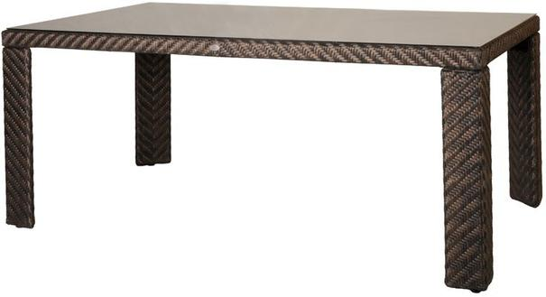 Oleander Ocean Wave Outdoor Rectangular Table