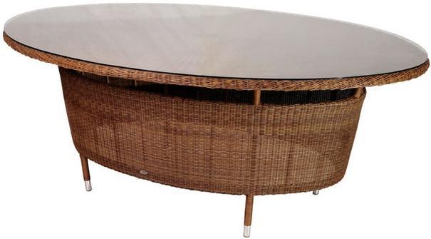 Shira San Marino Oval Garden Table image 2
