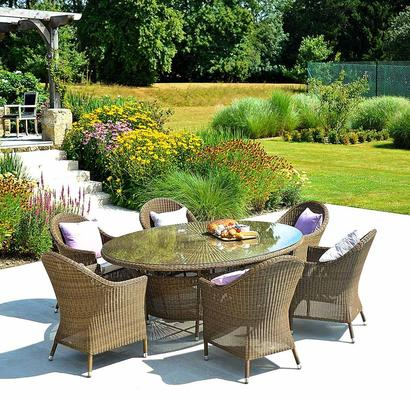 Shira San Marino Oval Garden Table