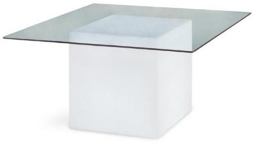 Square (light) dining table image 3