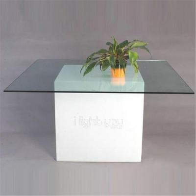 Square (light) dining table image 5