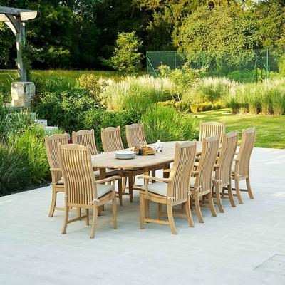 Roble Extending Garden Dining Table