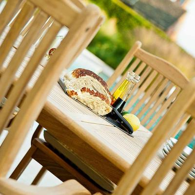 Roble Extending Garden Dining Table image 5