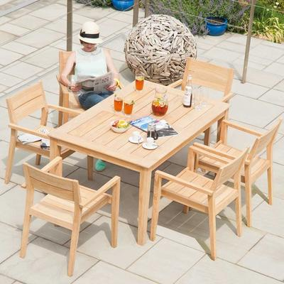Roble Rectangular Dining Table - 2 sizes