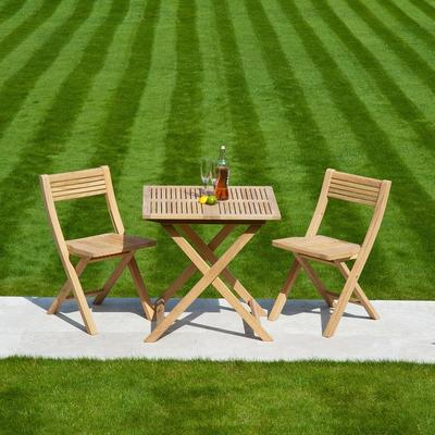 Roble Folding Patio Set for Two image 5