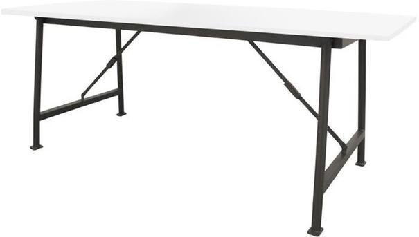 Folding Table with White Top image 3