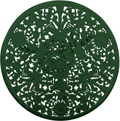 Industrial Round Garden Table Intricate Design image 10