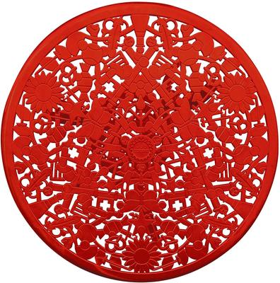 Industrial Round Garden Table Intricate Design image 13
