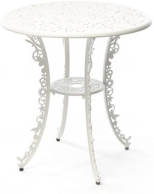 Seletti Industrial Round Garden Table Intricate Design