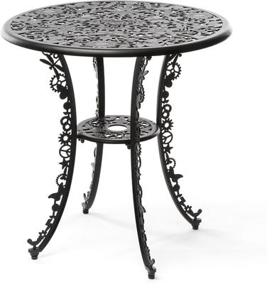 Seletti Industrial Round Garden Table Intricate Design image 11