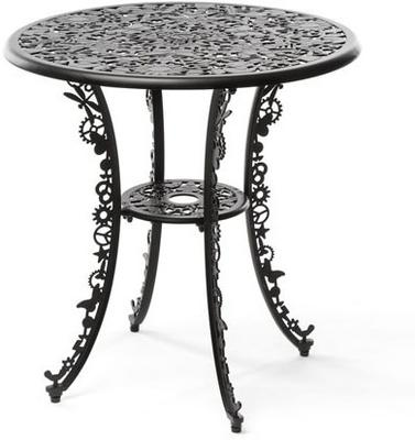 Seletti Industrial Round Garden Table Intricate Design image 12