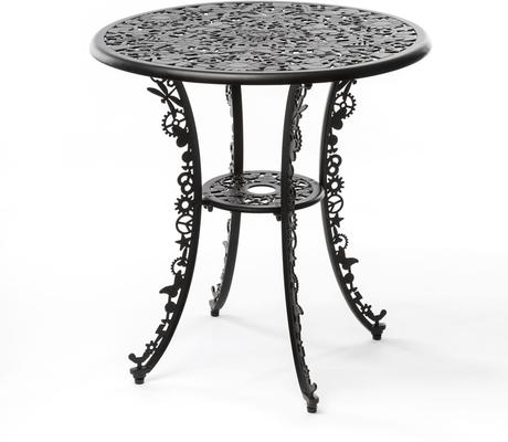 Seletti Industrial Round Garden Table Intricate Design image 13