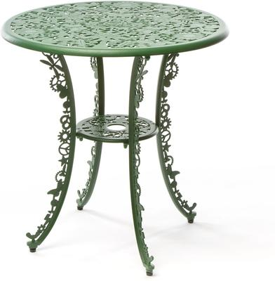 Seletti Industrial Round Garden Table Intricate Design image 14
