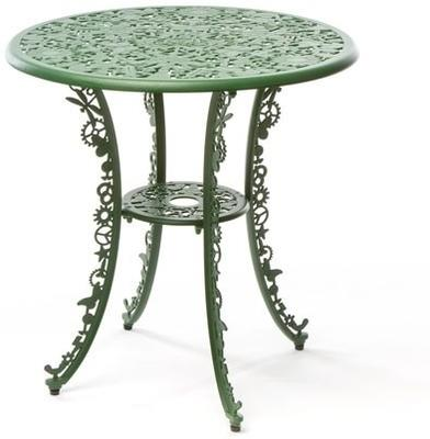 Seletti Industrial Round Garden Table Intricate Design image 15