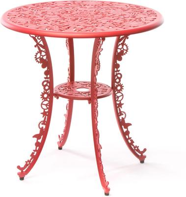 Seletti Industrial Round Garden Table Intricate Design image 17