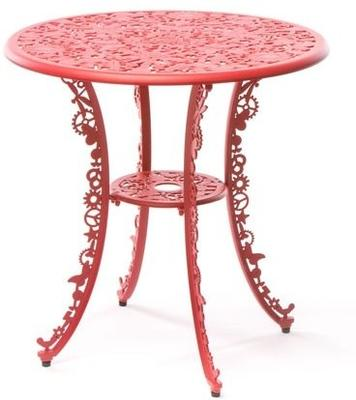 Seletti Industrial Round Garden Table Intricate Design image 18