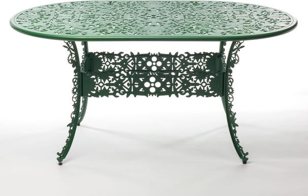 Seletti Industrial Oval Garden Table Victorian Design image 10