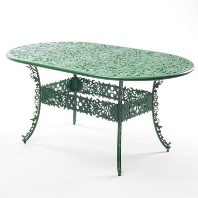 Seletti Industrial Oval Garden Table Victorian Design image 11