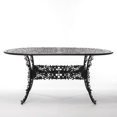 Seletti Industrial Oval Garden Table Victorian Design image 15