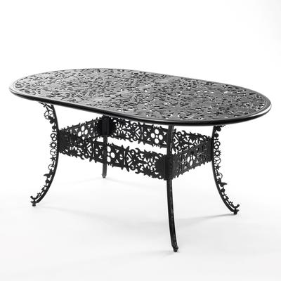 Seletti Industrial Oval Garden Table Victorian Design image 16