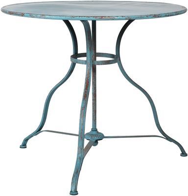 Round Distressed Antique Garden Table image 4