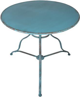 Round Distressed Antique Garden Table image 6
