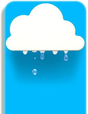 Rainy Pot - Blue image 3