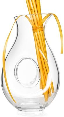 Glass Wine Carafe Jug 1300ml Gem image 4