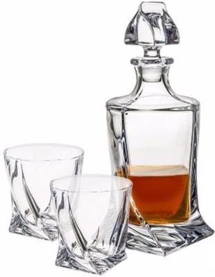 Quadro Spirits Decanter and Glass Set 1+4 850ml image 3