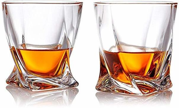 Bohemia Crystal Quadro Tumblers 340ml - Pair
