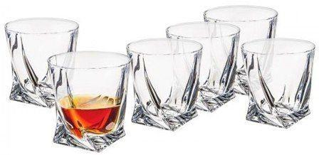 Bohemia Crystal Quadro Tumblers 340ml - Set Of Six